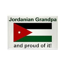 Jordanian Grandpa Rectangle Magnet