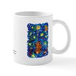 Shannon's Starry Mandolin Mug