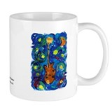 Shannon's Starry Mandolin Small Mug