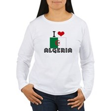 I HEART ALGERIA FLAG Long Sleeve T-Shirt