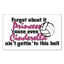 Volleyball Princess Decal
