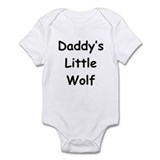 Daddy's Little Wolf Onesie
