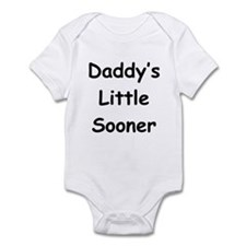 Daddy's Little Sooner Infant Bodysuit