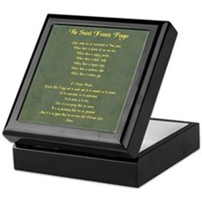 The St Francis Prayer Keepsake Box