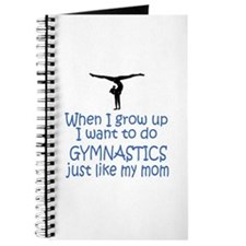 Gymnastics...just like MOM Journal