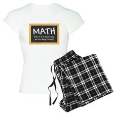 Math Rule #1 Pajamas