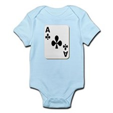 Ace of Clubs Playing Card Body Suit