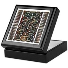 Rusty Celtic Knot Tiled Keepsake Box