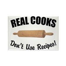 Real Cooks Rectangle Magnet