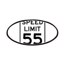 Speed Limit 55 Sign Patches