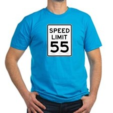 Speed Limit 55 Sign T-Shirt