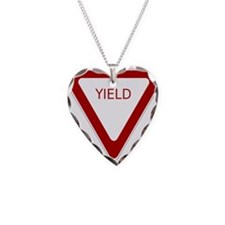 Yield Sign Necklace
