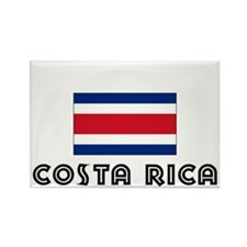 I HEART costa rica FLAG Rectangle Magnet
