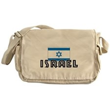 I HEART ISRAEL FLAG Messenger Bag