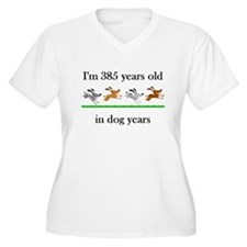 55 dog years birthday 1 Plus Size T-Shirt