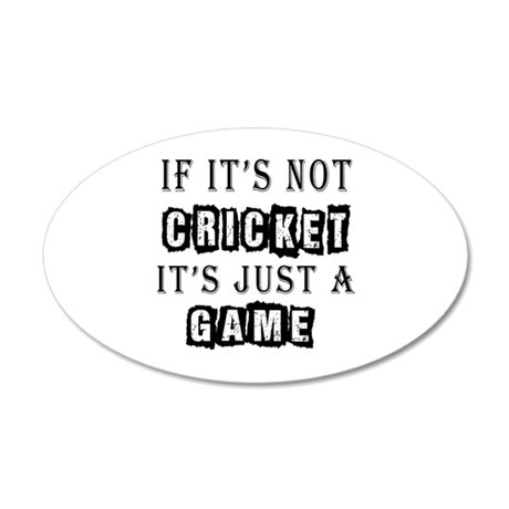 Cricket Designs 35x21 Oval Wall Decal