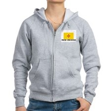 I HEART NEW MEXICO FLAG Zip Hoodie