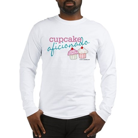 Cupcake Aficionado Long Sleeve T-Shirt