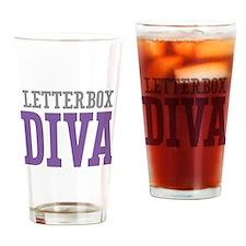 Letterbox DIVA Drinking Glass