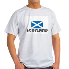 I HEART SCOTLAND FLAG T-Shirt