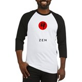 Red Zen Baseball Jersey