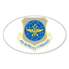 Air Mobility Command Oval Decal
