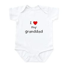 I love my granddad Infant Bodysuit