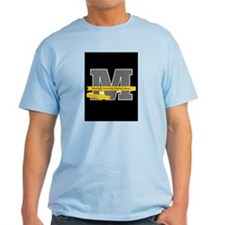 "Meyerhoff ""M"" with Langston Hughes Quote T-Shirt"