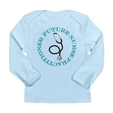 Future Nurse Practitioner Long Sleeve Infant T-Shi