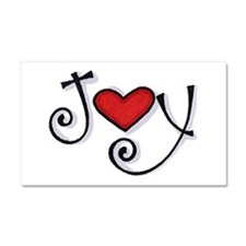 Joy.jpg Car Magnet 20 x 12