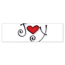 Joy.jpg Bumper Bumper Sticker