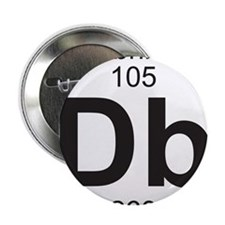 "Element 105 - Db (dubnium) - Full 2.25"" Button"