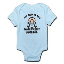 Best Pipeliner Dad Infant Bodysuit