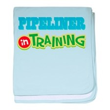 Pipeliner In Training baby blanket