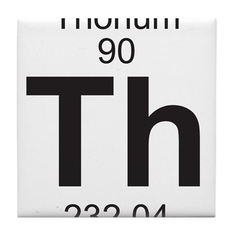 Element 90 Th Thorium Full Tile Coaster By Listing