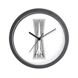 Missileman Badge Wall Clock