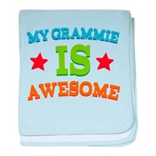 My Grammie Is Awesome baby blanket