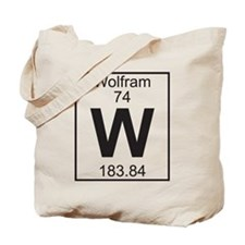 Element 74 - W (wolfram) - Full Tote Bag