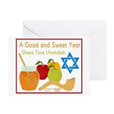 Healthy New Year Greeting Cards (Pk of 20)