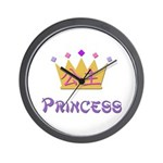 Chinese Princess Wall Clock