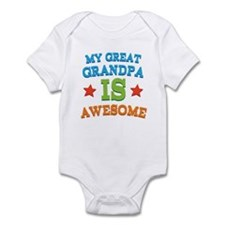 My Great Grandpa Is Awesome Infant Bodysuit