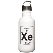 Element 054 - Xe (xenon) - Full Water Bottle