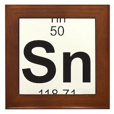 Element 050 - Sn (tin) - Full Framed Tile