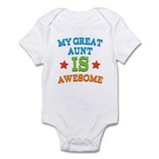 My Great Aunt Is Awesome Infant Bodysuit