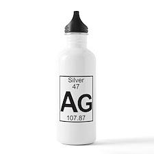 Element 47 - Ag (silver) - Full Water Bottle