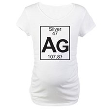 Element 47 - Ag (silver) - Full Shirt