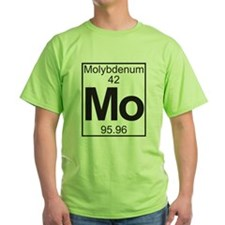 Element 42 - (molybdenum) - Full T-Shirt