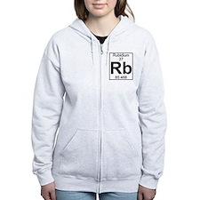 Element 37 - Rb (rubidium) - Full Zip Hoodie
