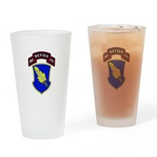 504th PIR Drinking Glass