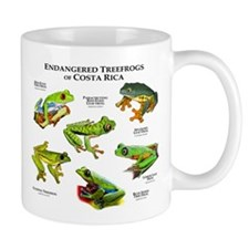 Endangered Tree Frogs of Costa Rica Small Mug